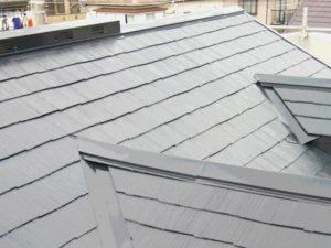 屋根塗り替え補修後